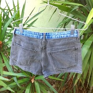 Forever 21 Two Toned Jean Shorts size 28